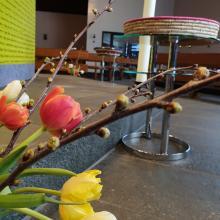 Gedenkgottesdienst am 9.4.2019 Blumen