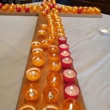 Gedenkgottesdienst am 9.4.2019 Lichterkreuz