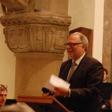 """Pastor Bertram Sauppe: """"Sie spielen für uns - und Sie spielen für einen guten Zweck"""""""
