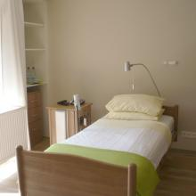 Zimmer im Hospiz Luise