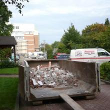 Das Hospiz Luise wird umgebaut – Baustelle
