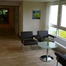 Das Hospiz Luise wird umgebaut – Zimmer