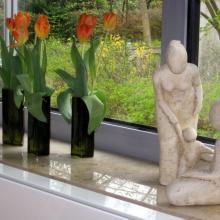 Das Hospiz Luise nach dem Umbau – Figuren